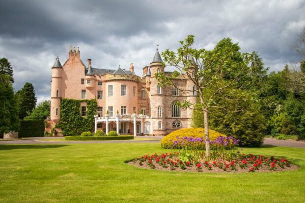 Balnagown Castle and grounds